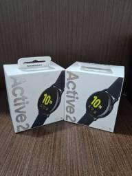 Smartwatch Active 2 Samsung (à vista R$1.000,00)