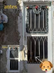 Aplicação de insulfim em janelas e portas