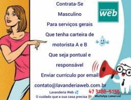 Emprego: Serviços Gerais - Lavanderia Web