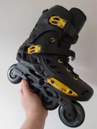 Patins roller Oxer + proteções Traxart Pro