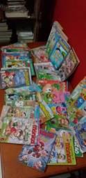 Lote 103 Revistas turma da Monica