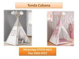 Tenda/Cabana (tecido lavável) chame 97970//4415 e receba já!!!