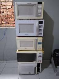 Conserto seu microondas hoje por preço unico,só R$100 qualquer defeito,aproveite.