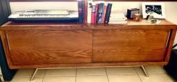 Estante/Rack de madeira maciça