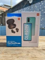 Xiaomi note 10 4/128 + airdots original brinde