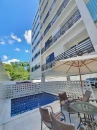 030L - Apartamento para alugar, 2 quartos, sendo 1 suíte, Mobiliado, lazer, nos Aflitos