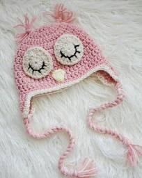 Título do anúncio: Touca para bebes em crochê