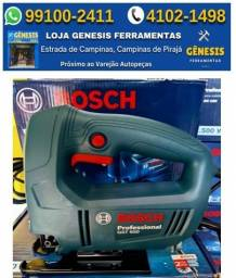 Serra Tico Tico profissional Bosch 450W GST 650 = entrega domicilio + nf + garanti