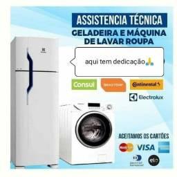 Consertos de Máquinas de lavar roupas e lavadoras automáticas