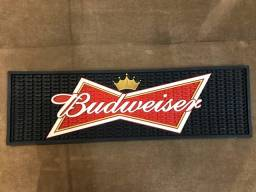 Tapete grande para Copos Bar Mat Budweiser