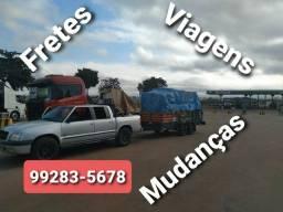 FRETES & MUDANÇAS dentro e fora do estado. Atendo fazendas.  99283_5678
