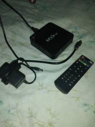 Tv box completo com tudo
