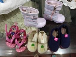 Barbada-calçados de crianças semi novos-preço-