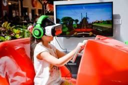 Negócio Inovador: Simulador de Montanha Russa Virtual 6D