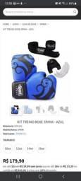 Vendo kit de boxe spank (luva, protetor e faixa)