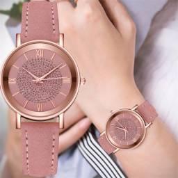 Relógios de luxo Relógio de Quartzo Mostrador  Pulseira de Aço Inoxidável  Ocasional