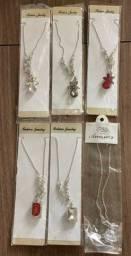 Kit com 6 colares femininos
