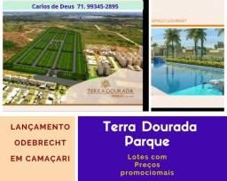 Título do anúncio: Terra Dourada Parque , lotes a partir de 109 m², Loteamento  Imperdível da Odebrecht