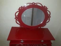 Título do anúncio: Aparador e espelho