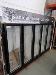 Geladeira 5 portas pra frios e lacticínios e bebidas pronta entrega