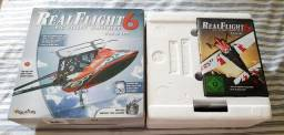 Título do anúncio: Simulador de aeromodelo RealFlight RF6 original