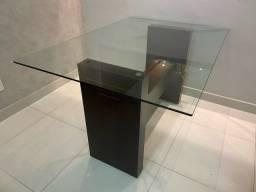 Mesa de vidro - perfeito estado