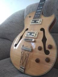 Título do anúncio: Guitarra Golden Les Paul Semi Acustica GSH570