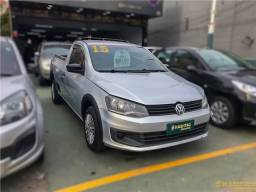 Título do anúncio: Volkswagen Saveiro 2015 1.6 mi trendline cs 8v flex 2p manual