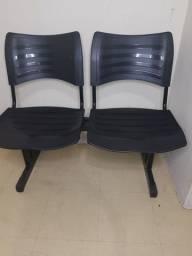 Cadeira de espera 2 lugares
