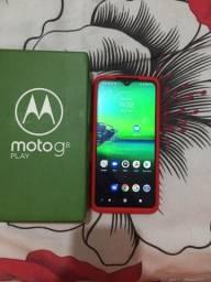 Moto g8play venda ou troca