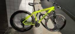 Título do anúncio: Bicicleta aro 29 suspensão dianteira freio a disco 21 marchas