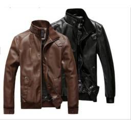 Jaqueta de couro tamanho G nova