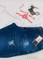 Bermudas jeans premium e camisas peruanas no varejo e Atacado, cooorree !