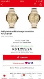 Título do anúncio: Relógio Armani Exchange Masculino ORIGINAL