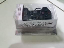 Controle Analógico De PlayStation 2 Novo Na Embalagem