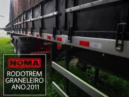 Título do anúncio: Noma Rodotrem Graneleiro 2011