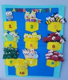 Painel números e quantidades