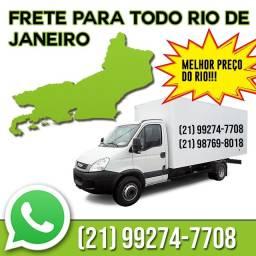 Fretes e Mudanças Melhor PREÇO do RIO ( Para Qualquer lugar do RIO)