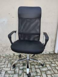 Cadeira Escritório Preta Tok Stok Encosto Alto