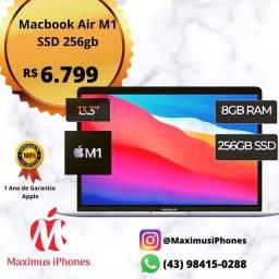 MacBook Air M1 SSD 256GB - Novo Lacrado