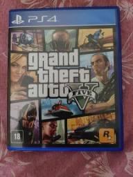 Vendo GTA 5 PS4