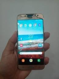 Samsung J7 Pro Usado Tela Quebrada