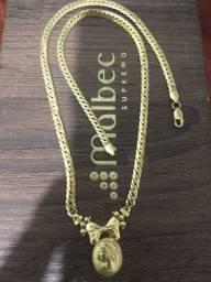 Título do anúncio: Gargantilha ouro