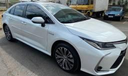 Título do anúncio: Toyota Corolla Altis Híbrido Premium Teto Solar Top de Linha 2021/2022.