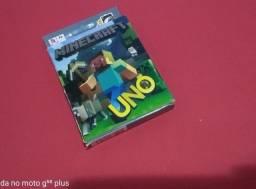 Jogo de Cartas Uno do Minicraft