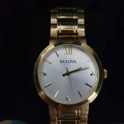 Título do anúncio: Relógio Bulova FEMININO Dourado - WB26137H