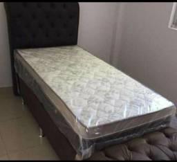 Título do anúncio: SLEEP POCKET D33 25CM MOLAS ENSACADA SOLTEIRO POR APENAS