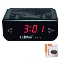 Rádio relógio completo grande promoção