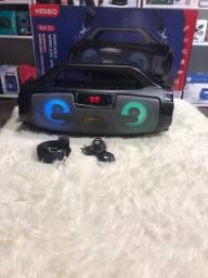 Caixa de Som Portatil USB Wireless Speaker Kimiso KMS-222