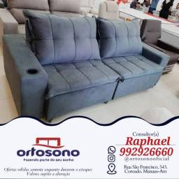 Título do anúncio: sofa sofa retratil entrega gratis